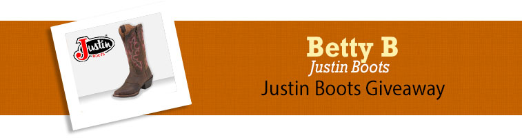 Horse.com's Justin Boots Giveaway Winner