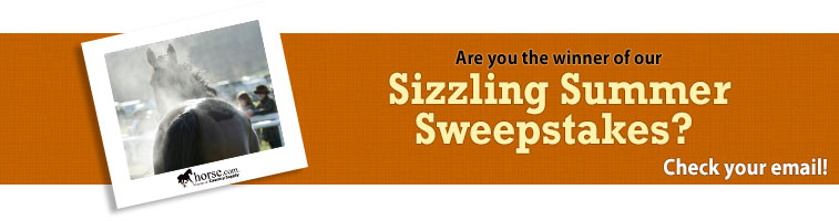 Horse.com's Sizzling Summer Sweepstakes Winner