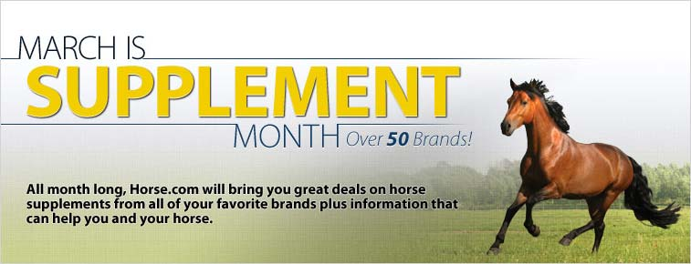 March Is Supplement Month
