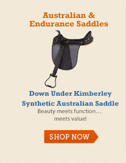 Down Under Kimberley Synthetic Australian Saddle