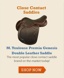 M. Toulouse Premia Genesis Double Leather Saddle